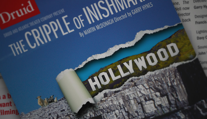 Publicity material for Druid&rsquo;s production of <em>The Cripple of Inishmaan</em> by Martin McDonagh