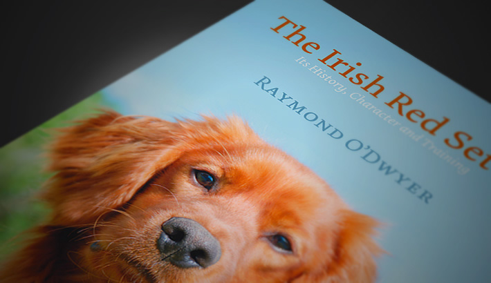 Book design The Irish Red Setter